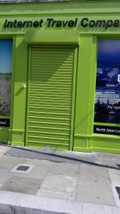 green rollr shutter pearse street dublin